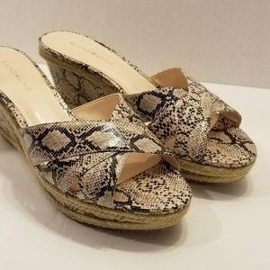 Bandolino Animal Print Sandal - Size 9M